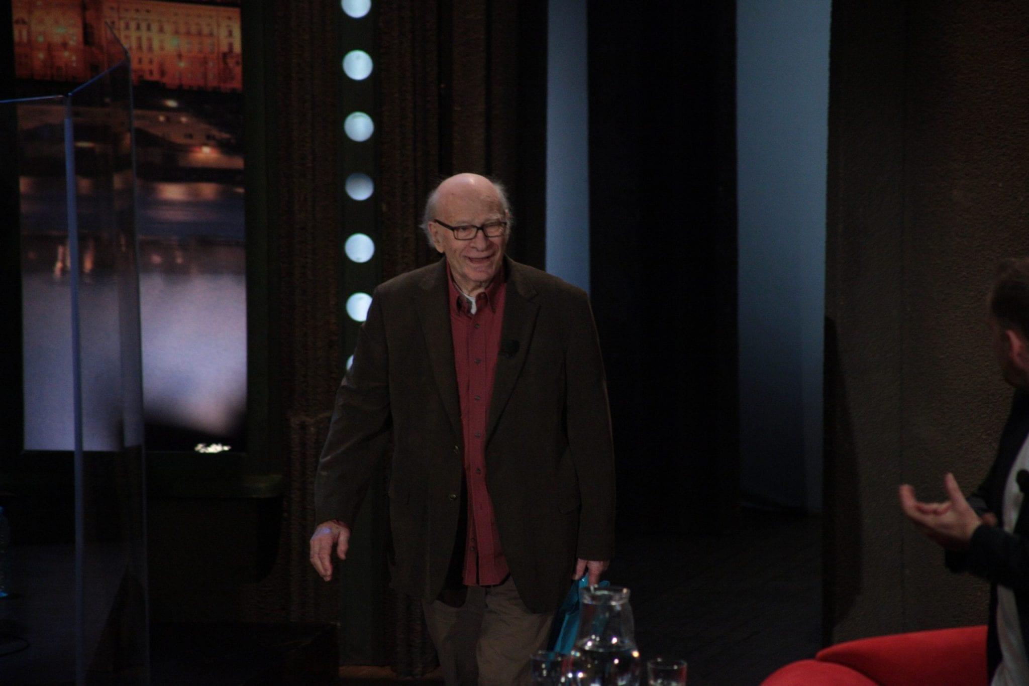 Oskarový režisér animovaných filmů Američan Gene Deitch v SJK 20. 4. 2016