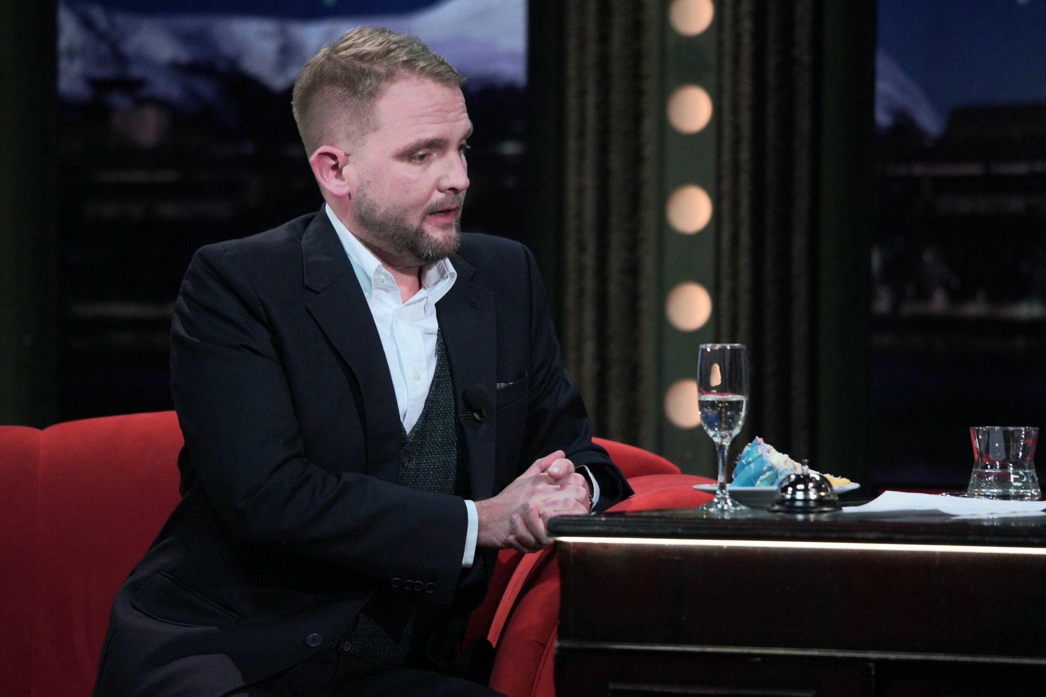 Moderátor Libor Bouček v SJK 10. 3. 2021