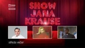 Upoutávka na Show Jana Krause 11. 1. 2017