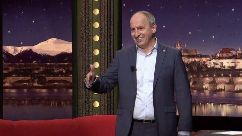 Herci Marika Šoposká a Jiří Mádl, spisovatelka Alena Mornštajnová a hudebník Ondrej Kandráč v SJK 2. 10. 2019