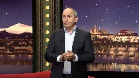 Herec Jakub Štáfek, zpěvačka Tereza Mašková a ředitelka kliniky asistované reprodukce Michaela Šilhavá v SJK 20. 11. 2019
