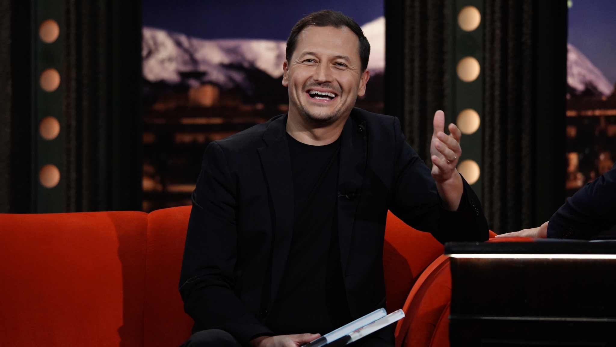 Sportovní komentátor Vojtěch Bernatský v Show Jana Krause 30. 9. 2020