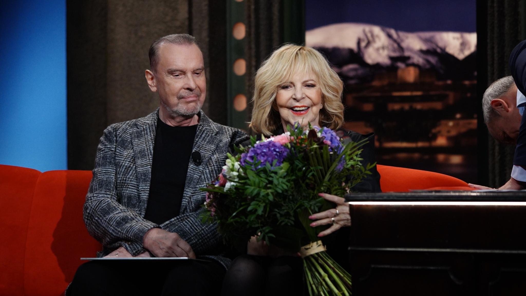 Hana Zagorová a Štefan Margita v Show Jana Krause, 31. díl — 7. 10. 2020
