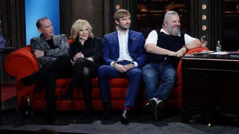 Zleva: Štefan Margita, Hana Zagorová, Adam Vojtěch a Daniel Vávra v SJK 7. 10. 2020