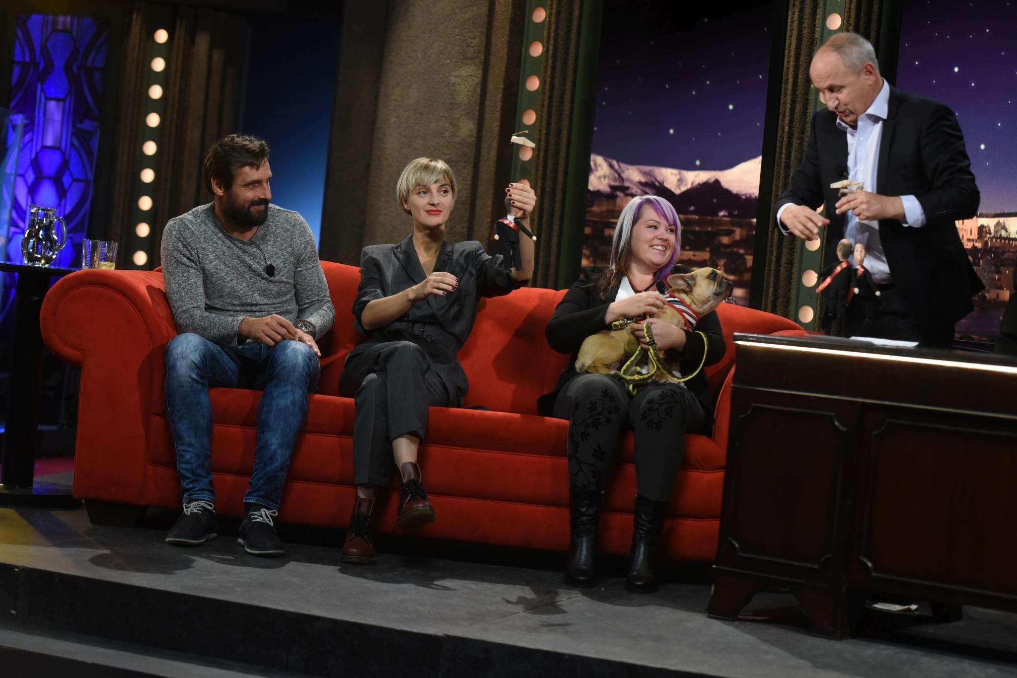 Roman Šebrle, Barbora Poláková a Kateřina Plačková v SJK 3. 10. 2018