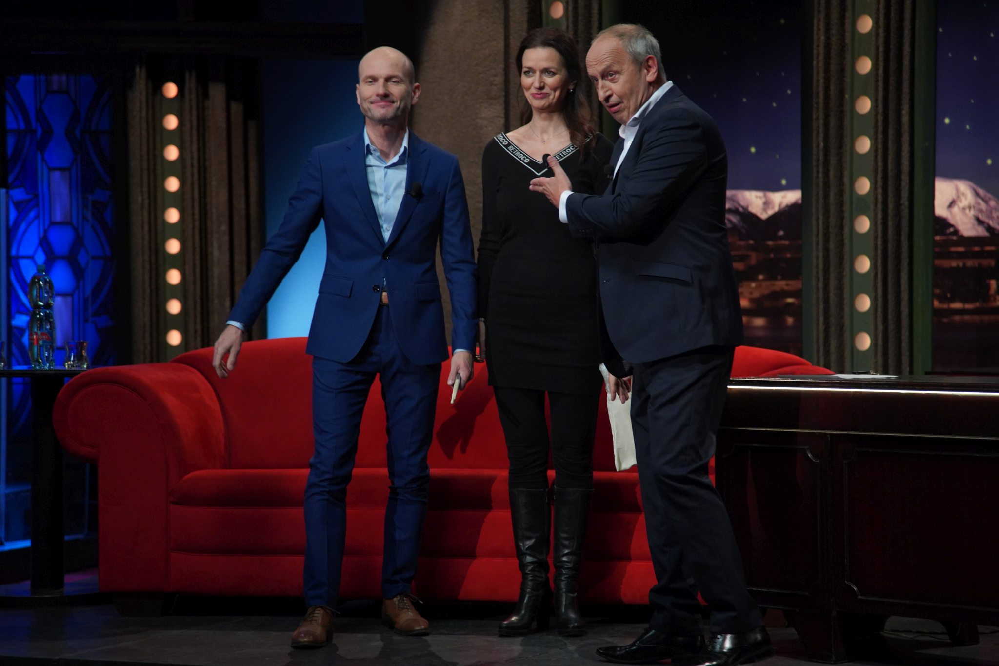 Adéla a Dalibor Gondíkovi v Show Jana Krause 13. 1. 2021
