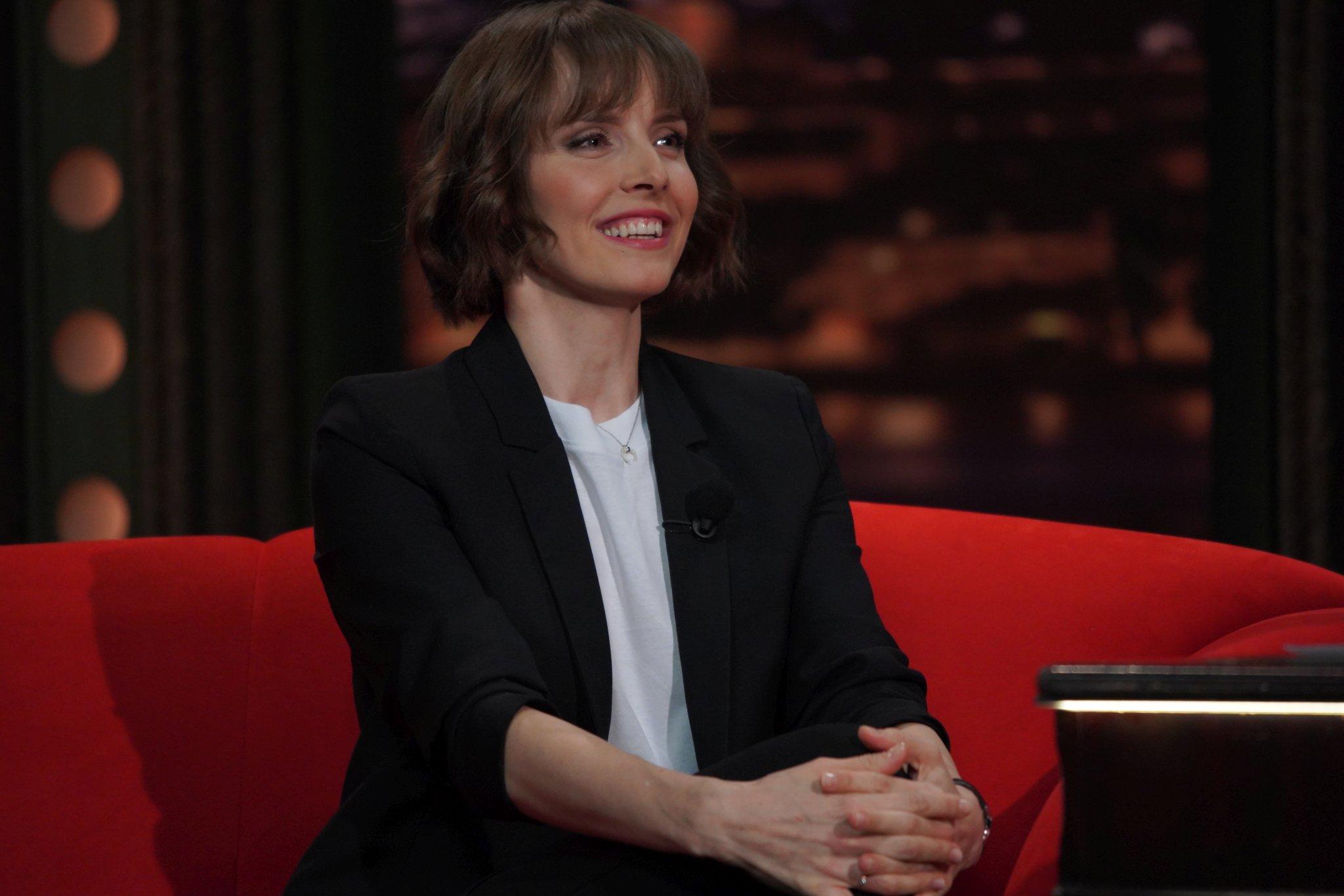Moderátorka CNN Prima News Gabriela Lašková v SJK 20. 1. 2021