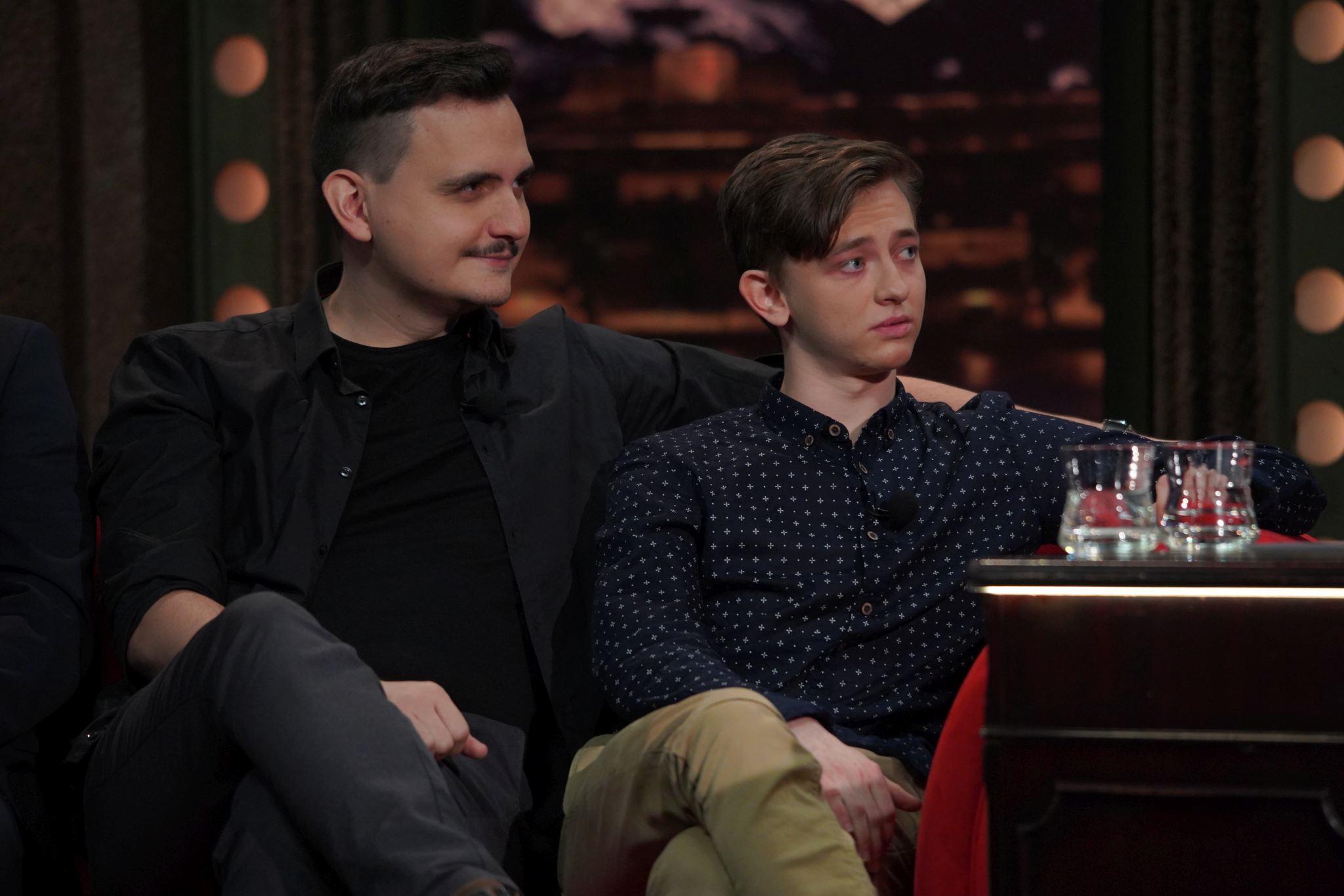 Režisér Pavel Soukup a herec Jakub Nemčok v SJK 20. 1. 2021