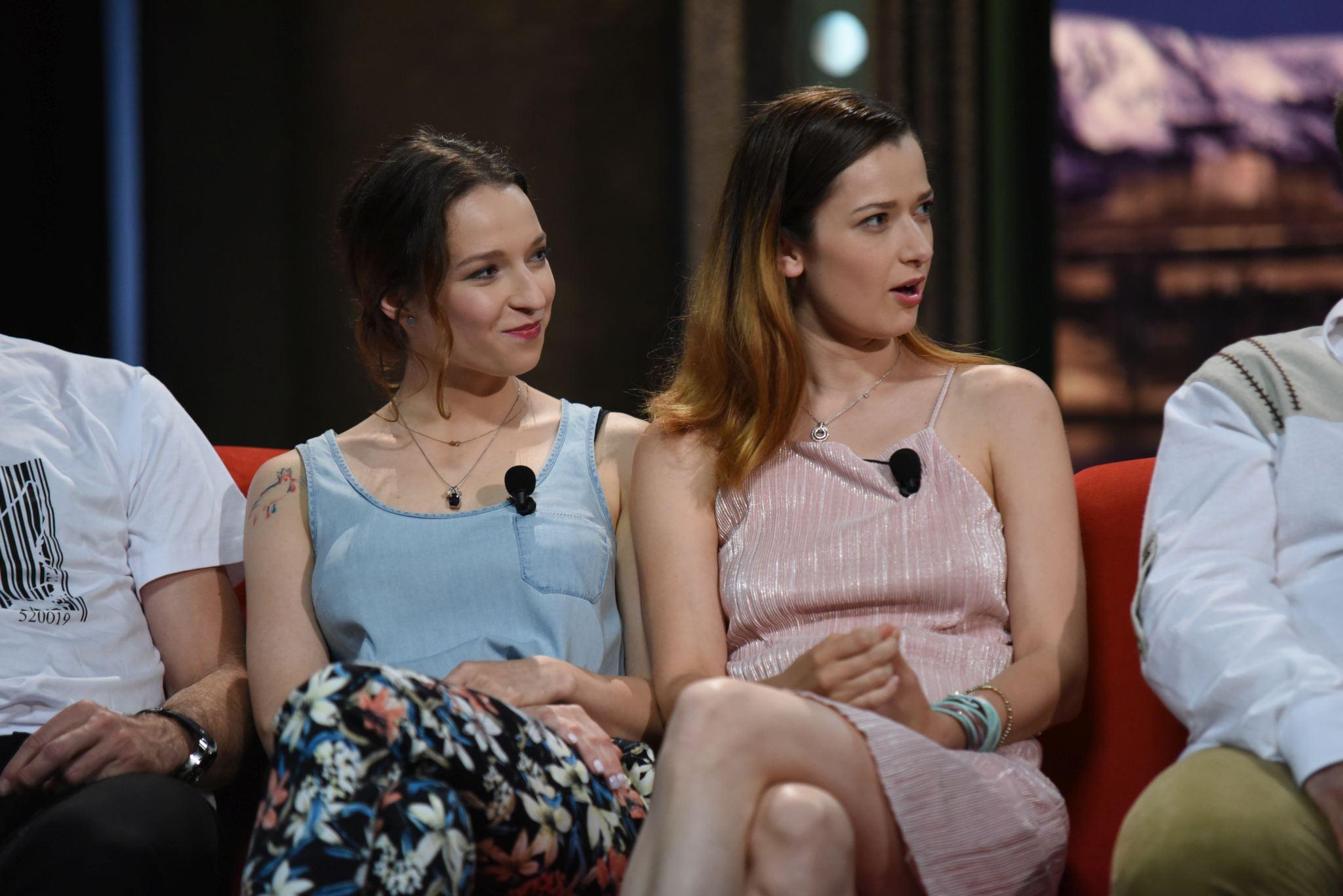 Výtečné sedmilhářky, herečky a blogerky Berenika Kohoutová a Marika Šoposká v SJK 1. 6. 2016