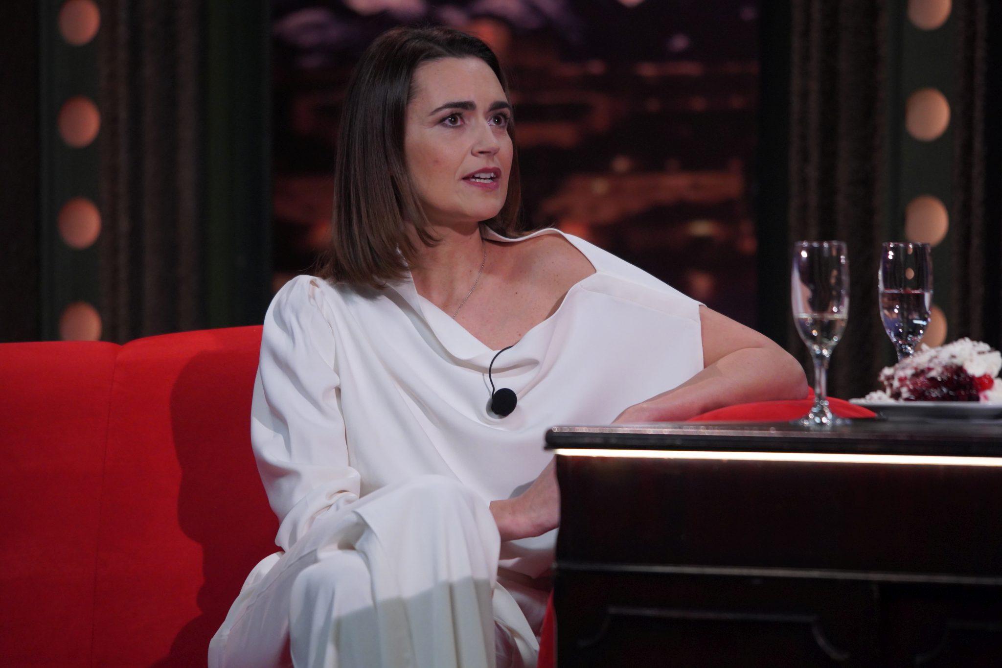 Televizní moderátorka a redaktorka Daniela Písařovicová v SJK 3. 2. 2021