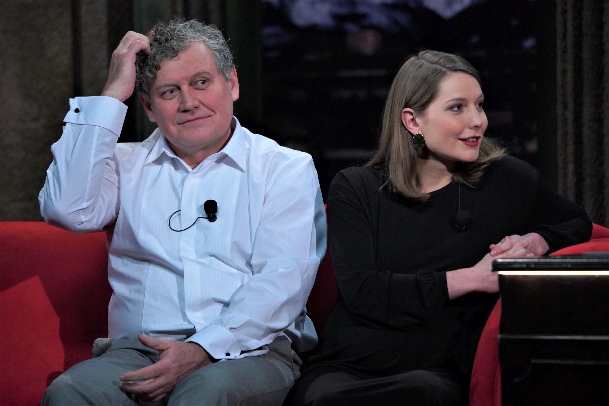 Herci (otec a dcera) Miroslav a Eliška Hanušovi v SJK 24. 2. 2021