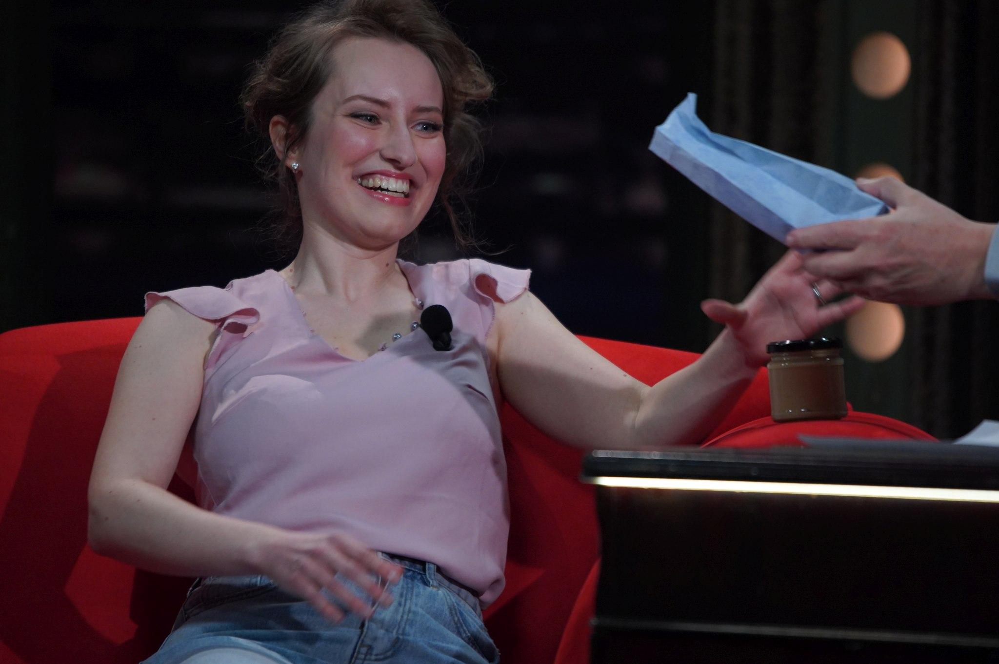 Marketingová specialistka a kontroverzní finalistka kuchařské soutěže Pavlína Lubojatzky v SJK 17. 3. 2021
