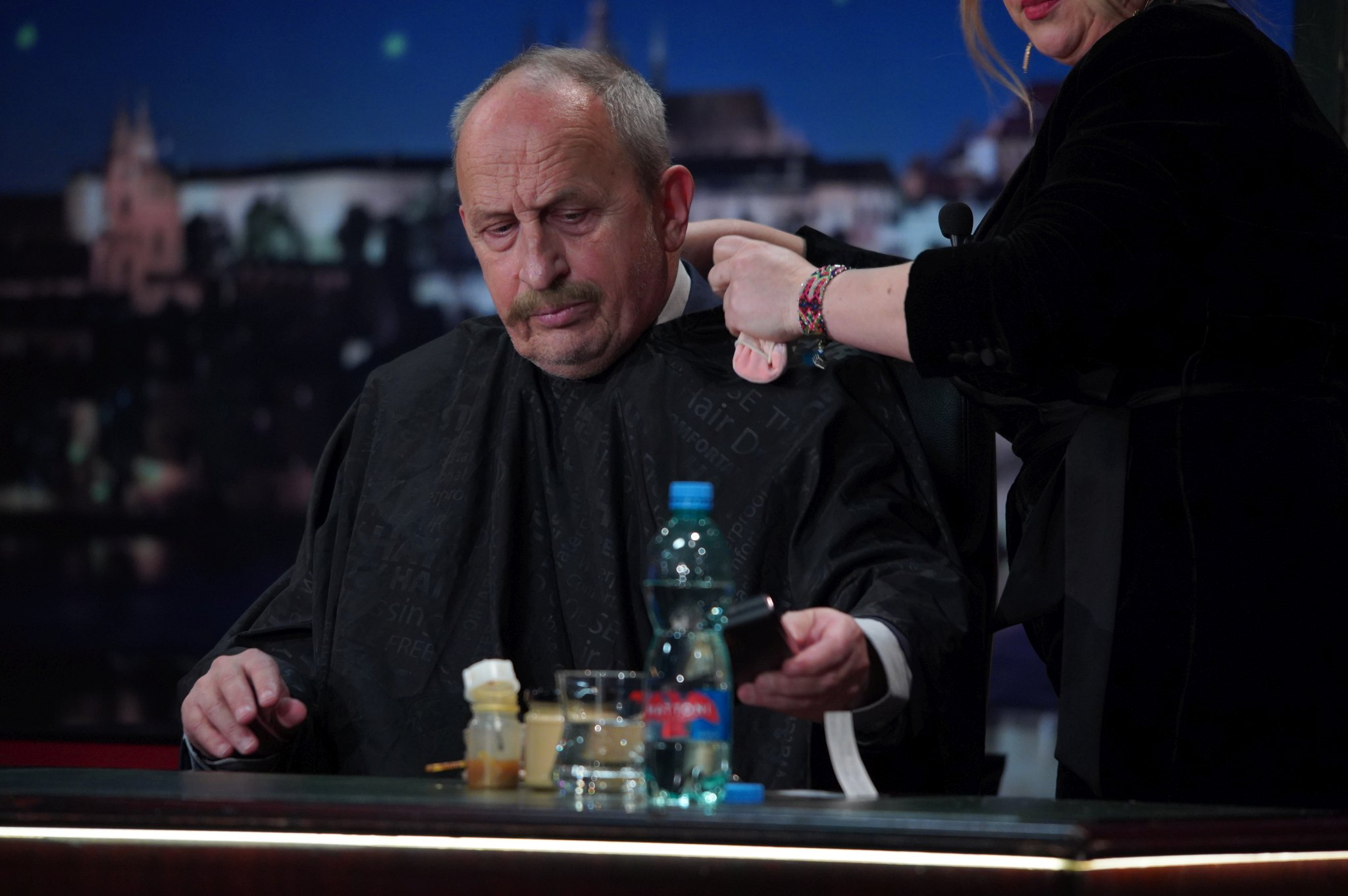 Umělecká maskérka Adriana Bartošová v SJK 17. 3. 2021