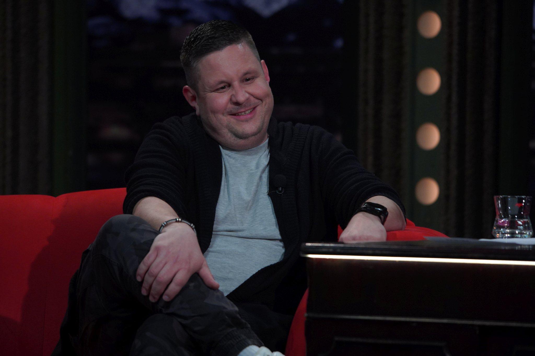 Herec Michal Novotný v SJK 31. 3. 2021