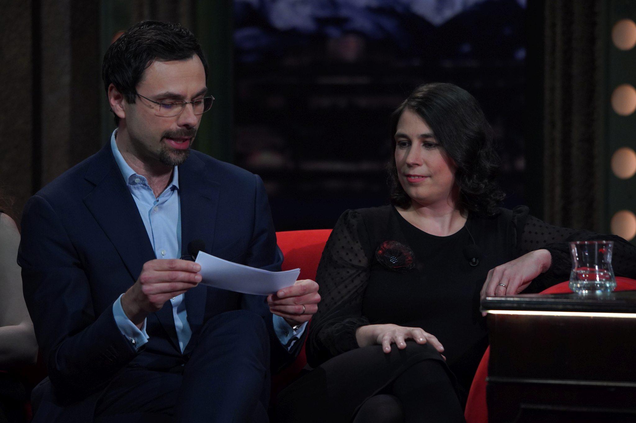 Filantropové Katarína a Ondřej Vlčkovi v SJK 31. 3. 2021