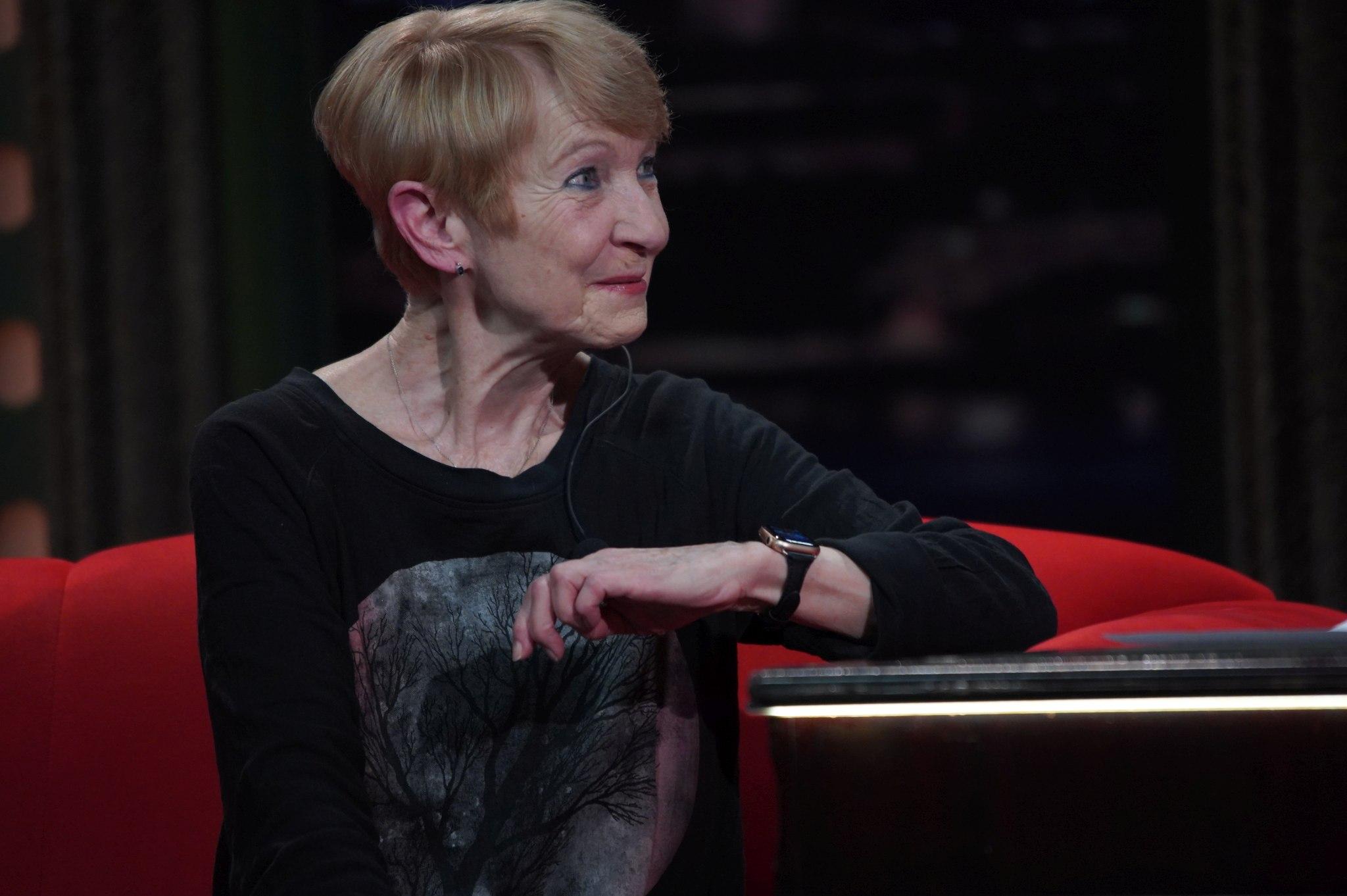Herečka Daniela Kolářová v SJK 7. 4. 2021