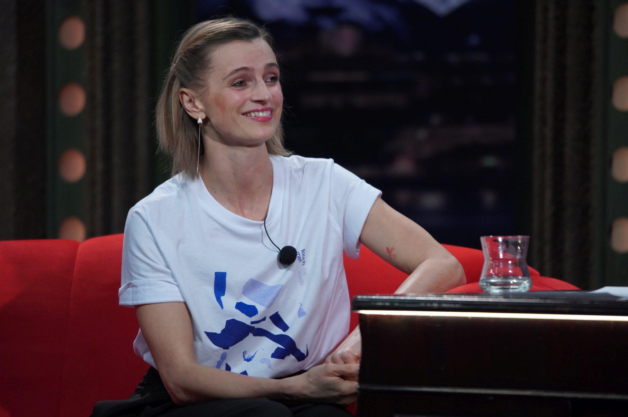 Herečka Ivana Jirešová v SJK 14. 4. 2021