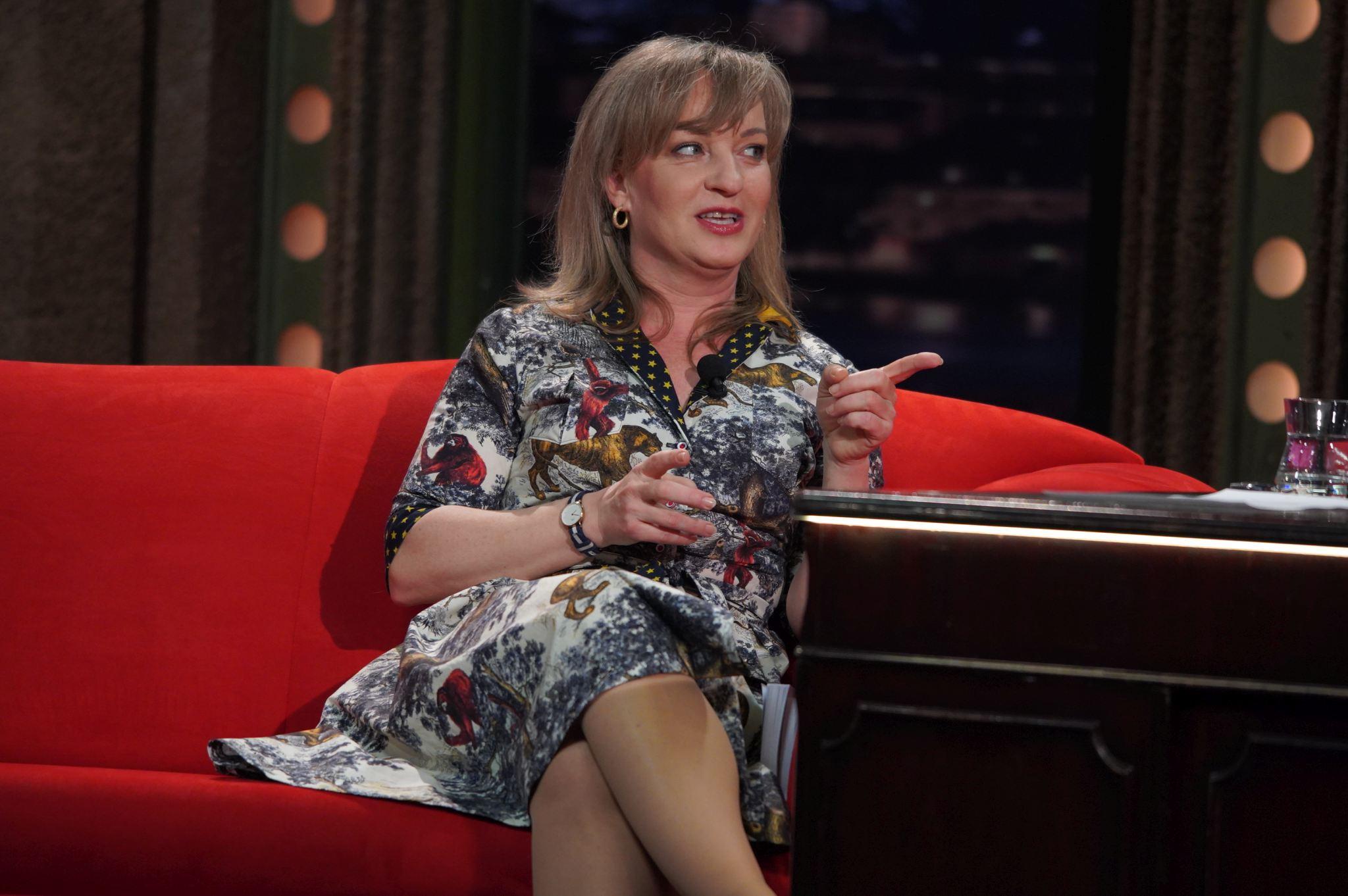 Herečka Sandra Pogodová v SJK 28. 4. 2021
