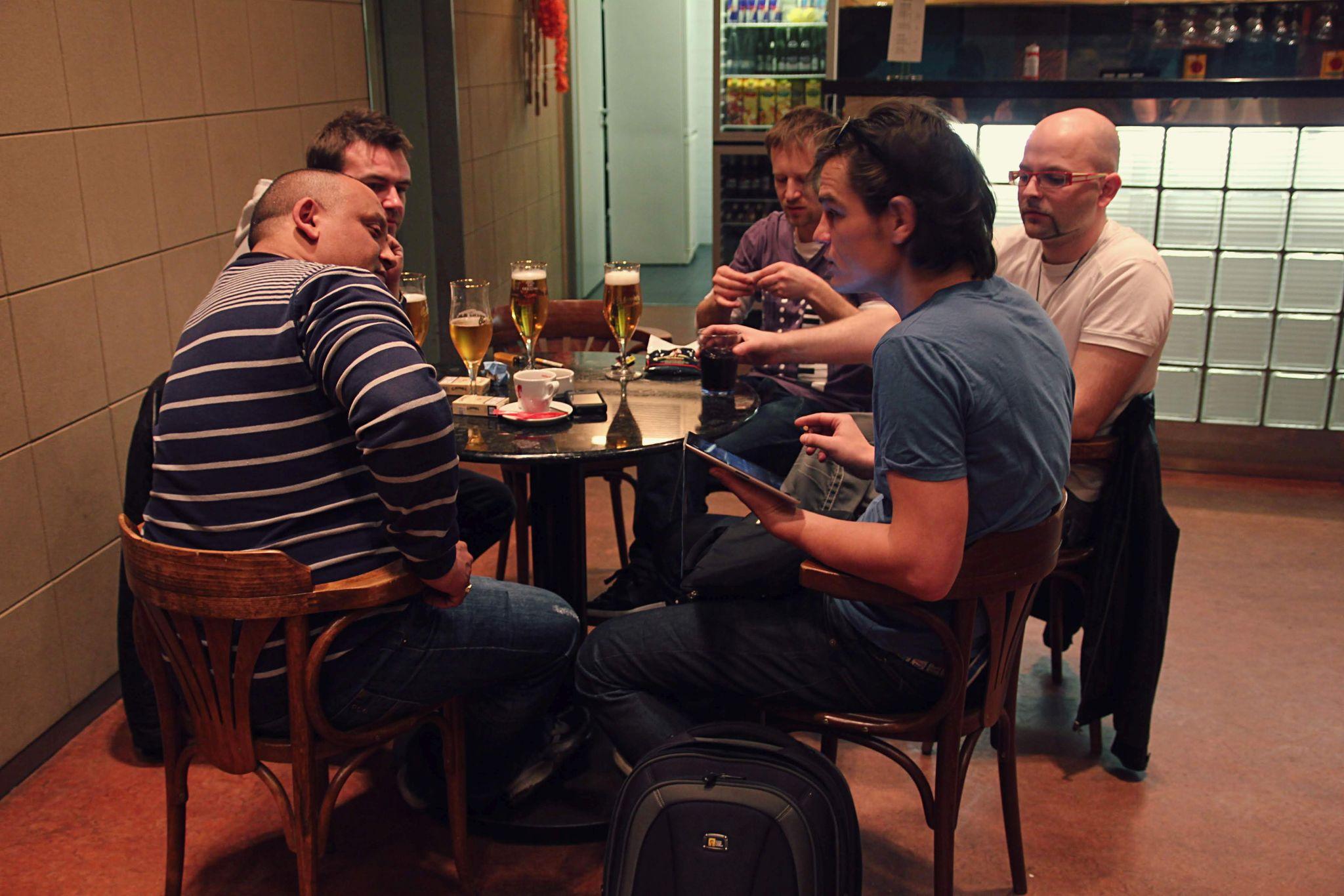 Hudební kapela Davida Krause — SJK 6. 4. 2012