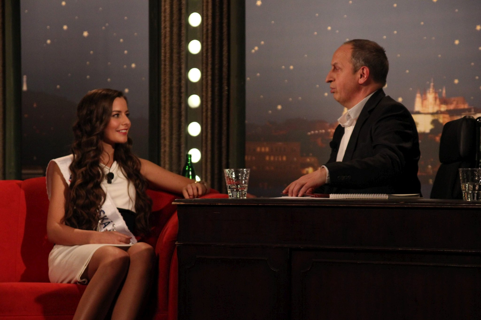 Modelka, Česká Miss 2012 Tereza Chlebovská v SJK 6. 4. 2012