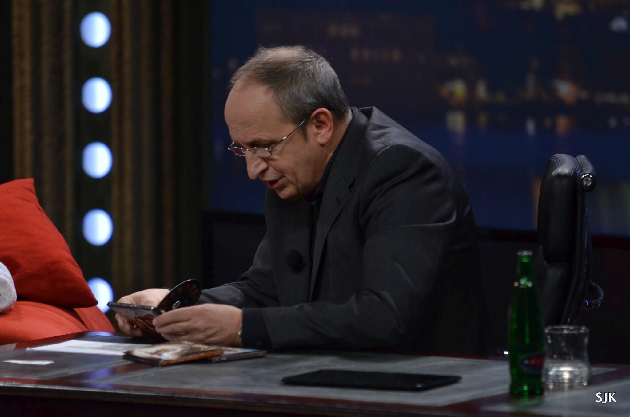 Jan Kraus nad DVD o saunování v SJK 15. 3. 2013