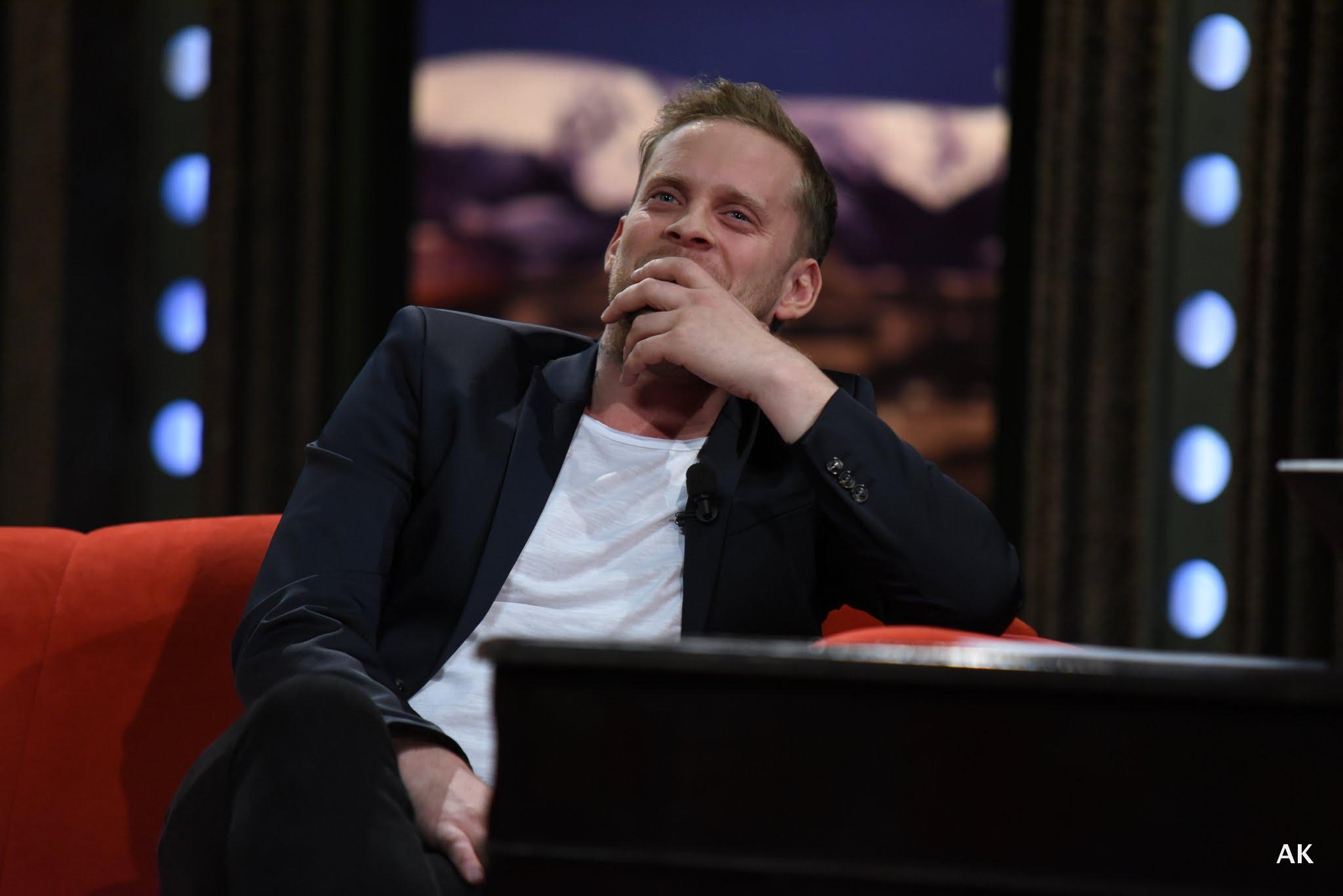 Herec a muzikant Jakub Prachař v SJK 20. 4. 2016