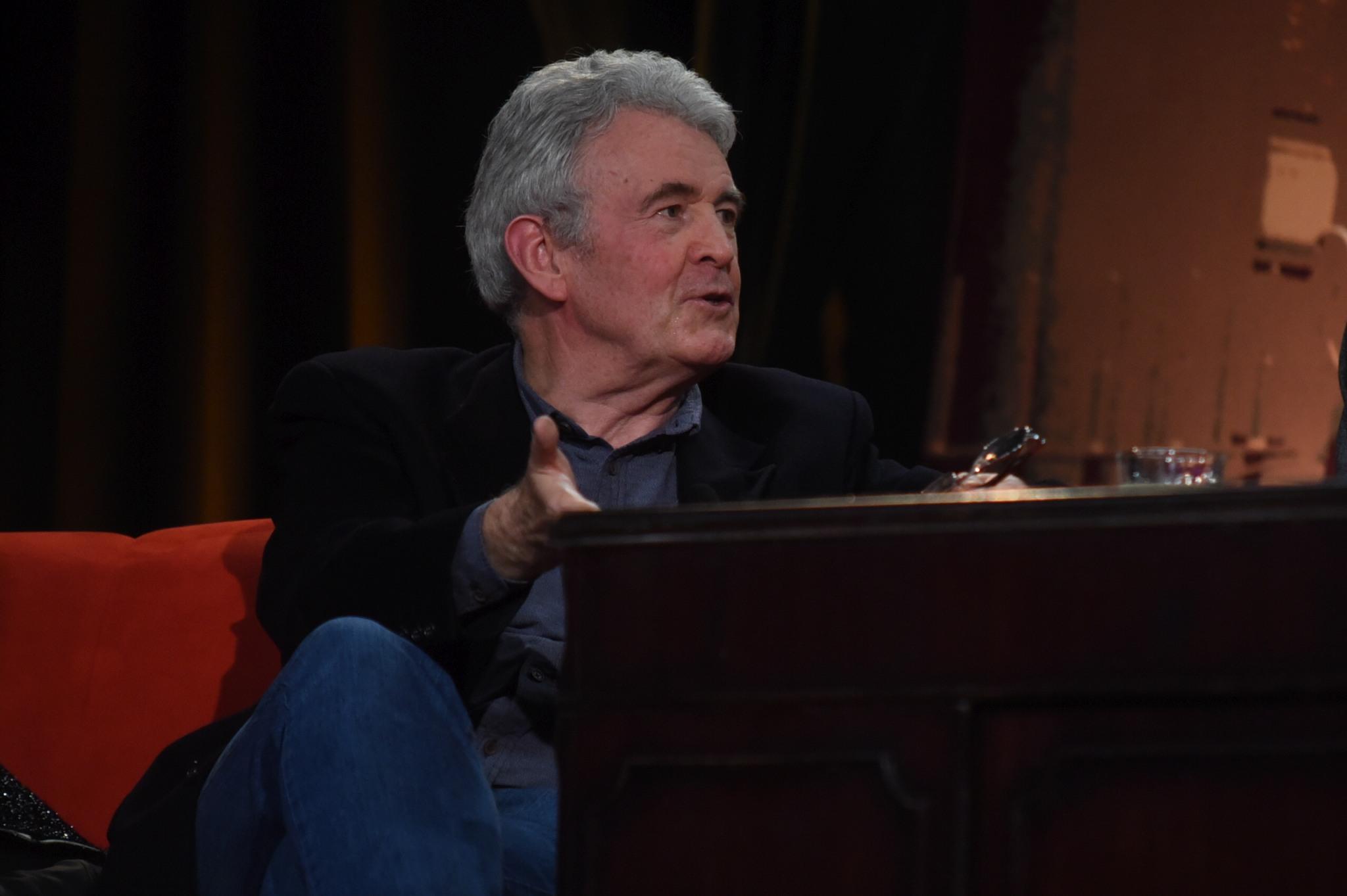Anglický spisovatel Simon Mawer, autor románu Skleněný pokoj, v SJK 13. 3. 2019