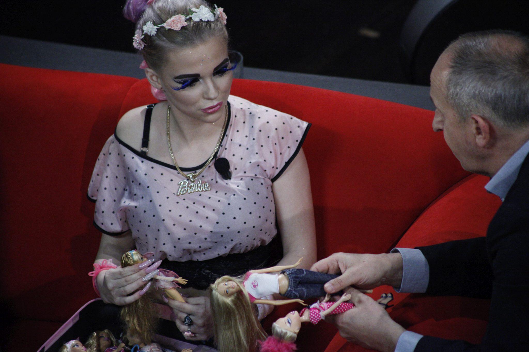 Gabriela Juráčková, první česká Barbie, v SJK 29. 3. 2017