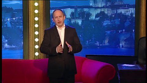 Herec a dabér Martin Dejdar, začínající zpěvačka Dominika Hašková a sběratel pytlíků na nevolnost Miloš Kubišta v SJK 31. 12. 2010
