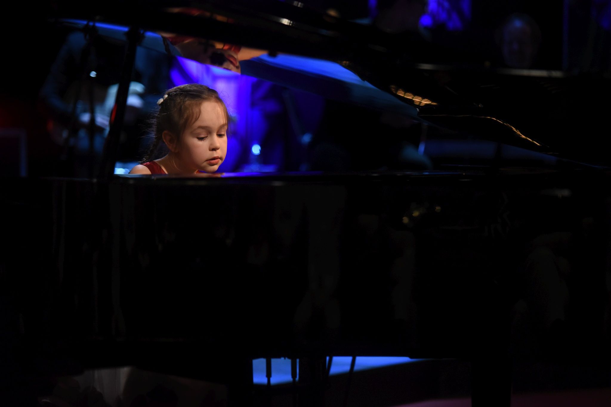 Malá talentovaná klavíristka Klára Gibišová v SJK 23. 1. 2019
