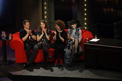 Zleva: Tomáš Kraus, Eva Samková, Alice Nellis a Vanda Janda