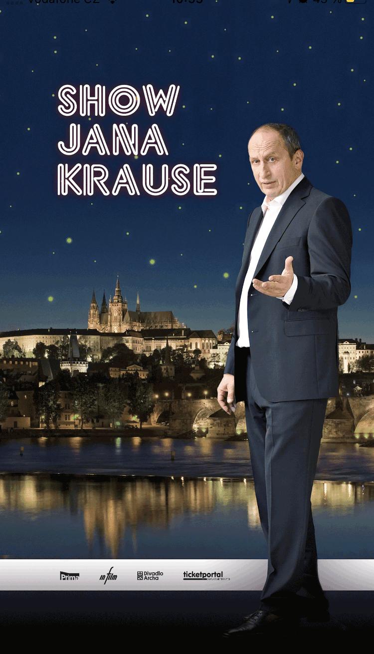 Pro pořad Show Jana Krause vznikla nová mobilní aplikace, která je dostupná ke stažení pro Android v Google Play a pro iOS v App Store