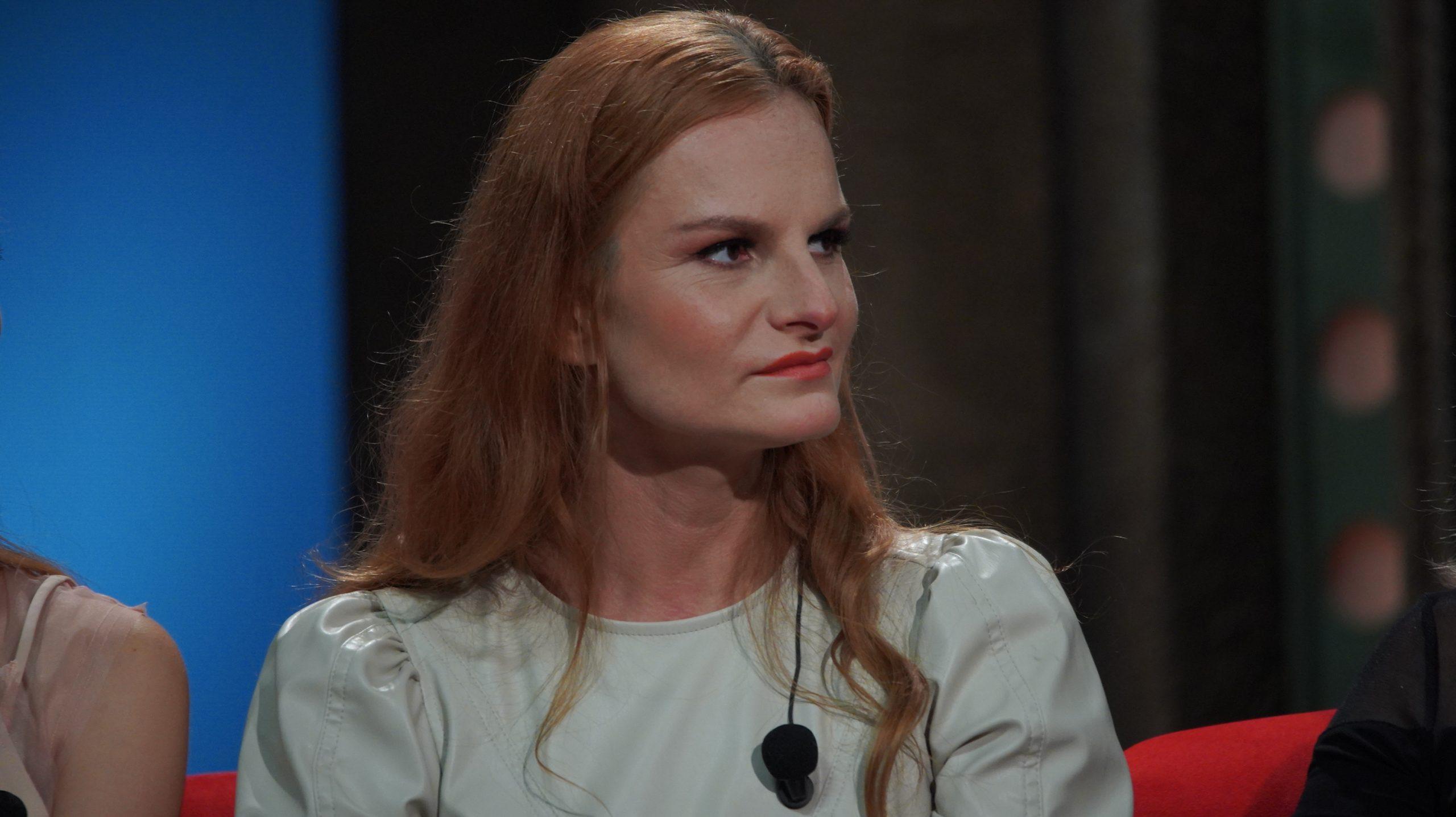 Herečka a kulturistka Iva Pazderková v SJK 8. 9. 2021