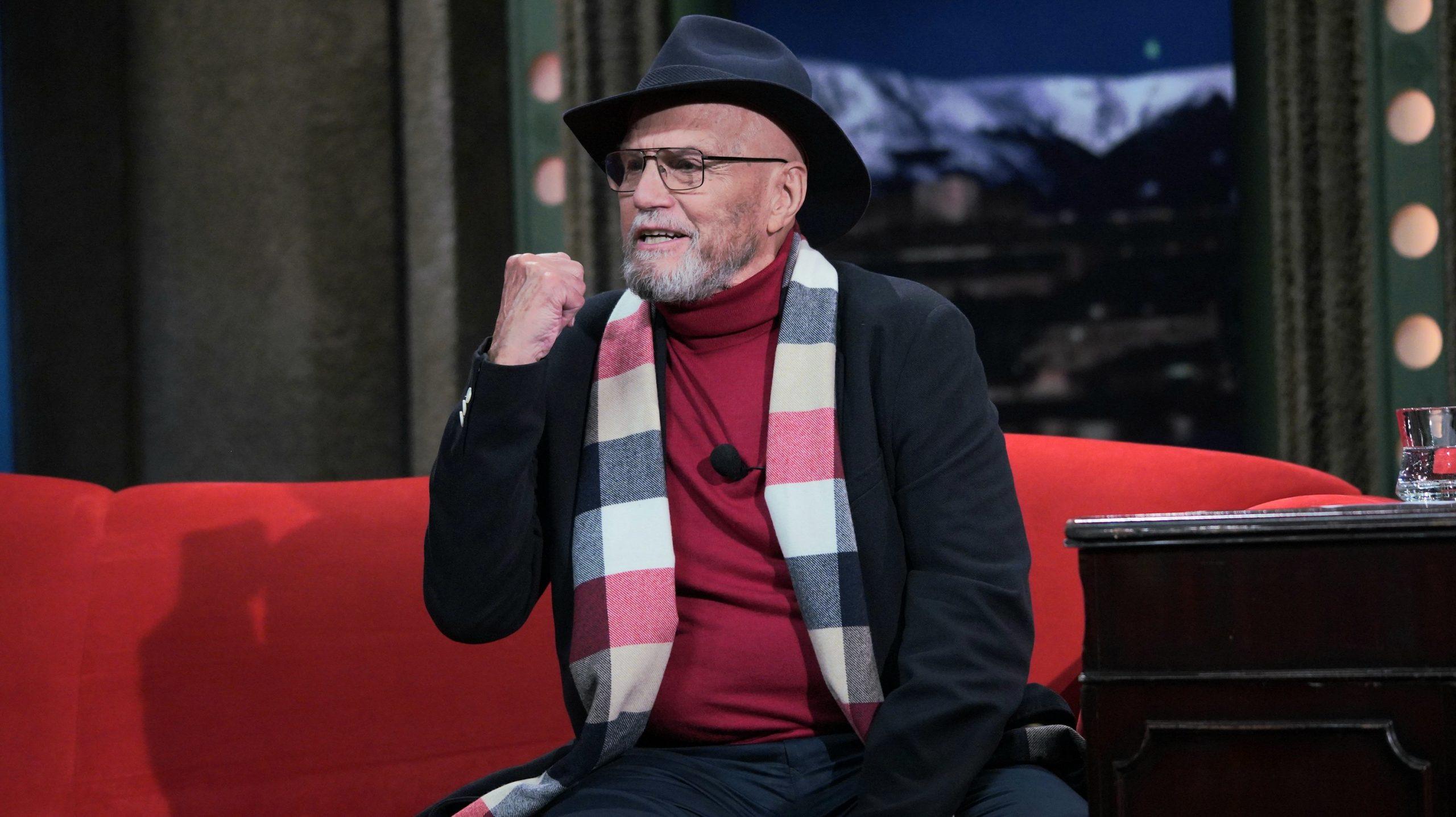 Herec Jan Přeučil v SJK 13. 10. 2021